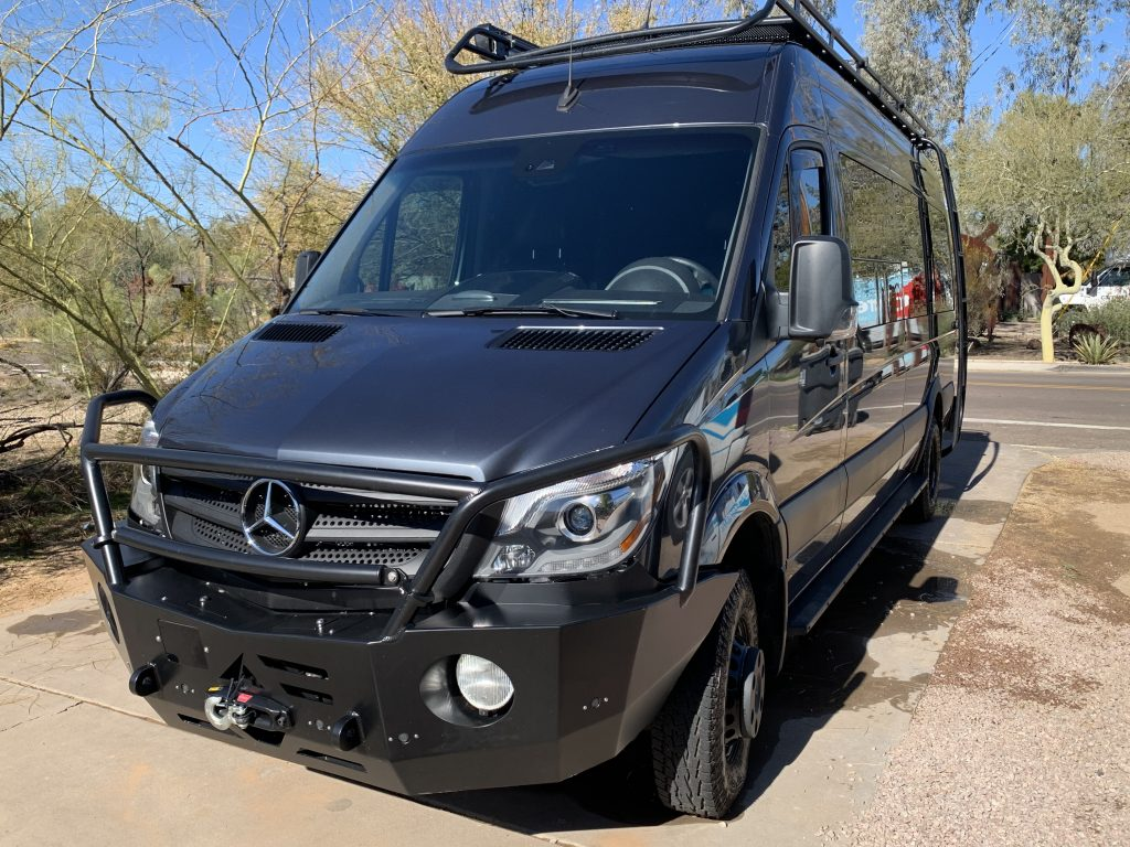 Mercedes Sprinter Detail